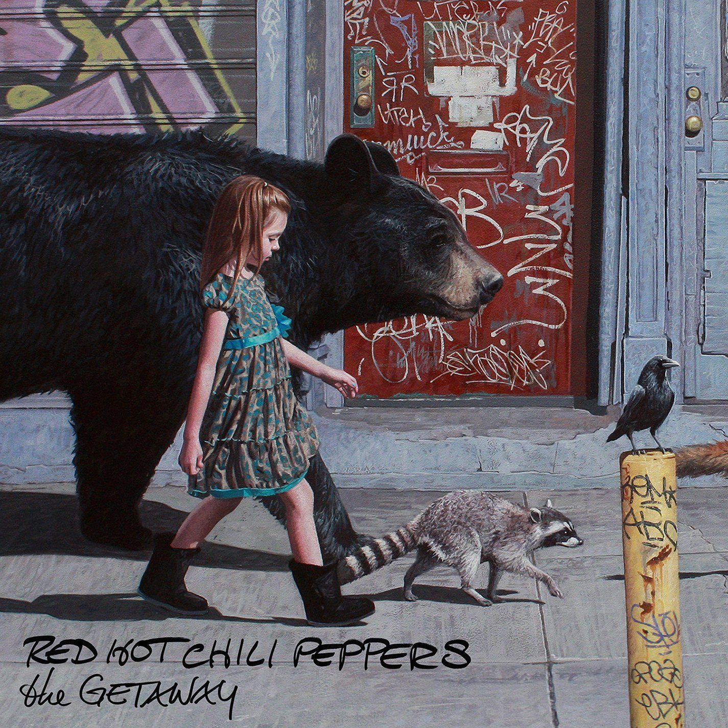 Znalezione obrazy dla zapytania red hot chili peppers the getaway