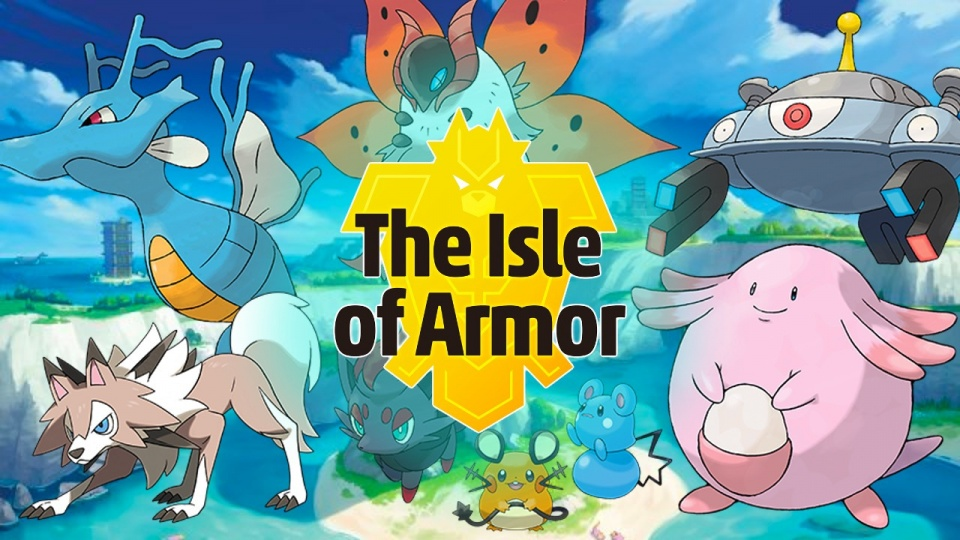 Pokemon Shield The Isle of Armor DLC