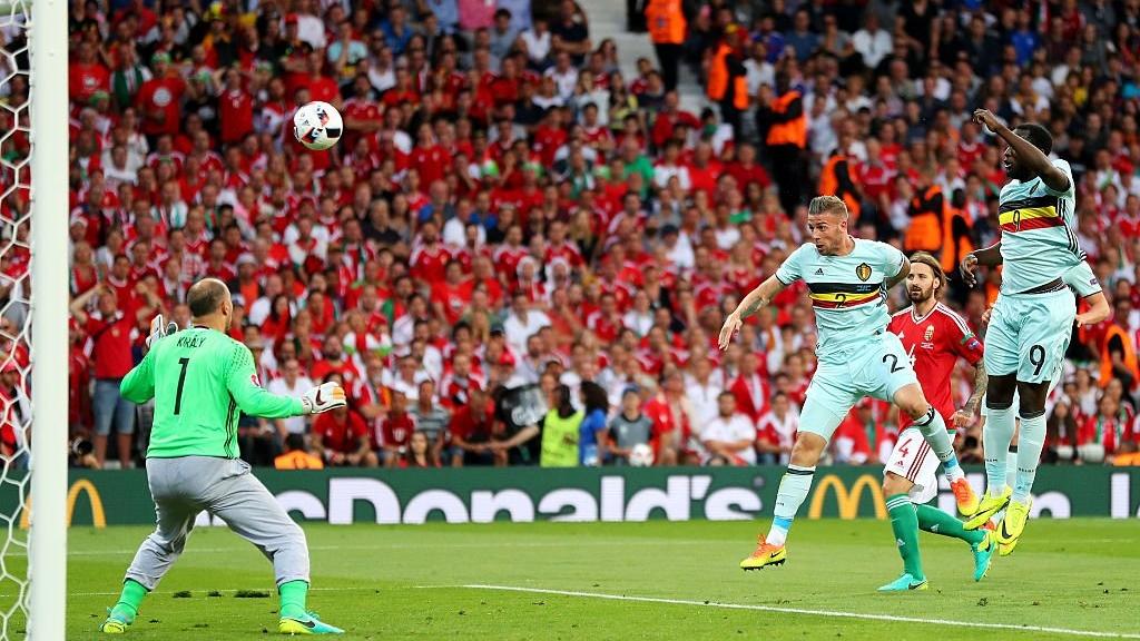 EURO 2016: Belgia rozbija Węgrów