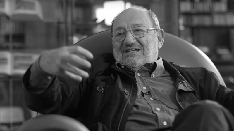 Umberto Eco. Fot. youtube.com