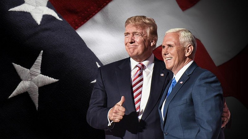 Donald Trump i Mike Pence, wiceprezydent USA. Fot. Donald Trump Twitter