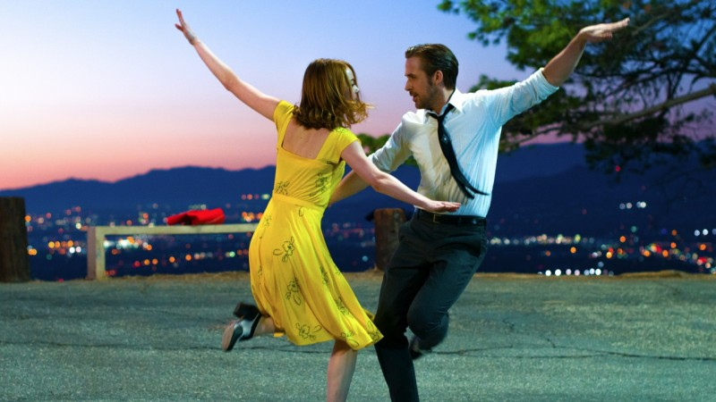 "Musical ""La La Land"". Mat. producenta"