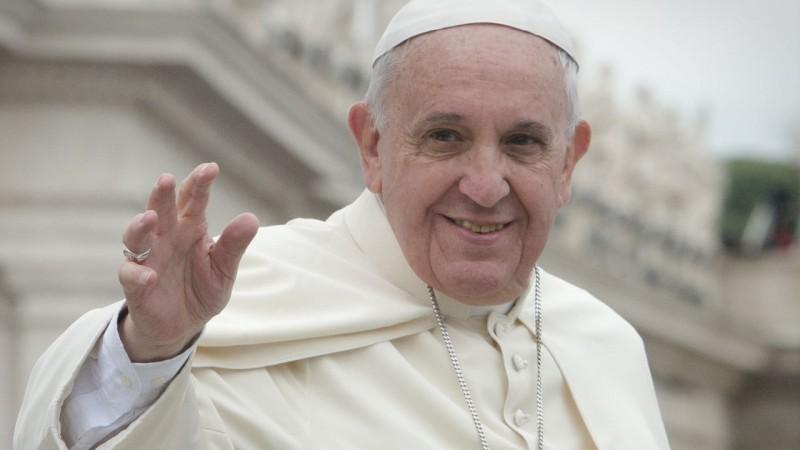 Papież Franciszek. Fot. www.wikipedia.org / Jeffrey Bruno