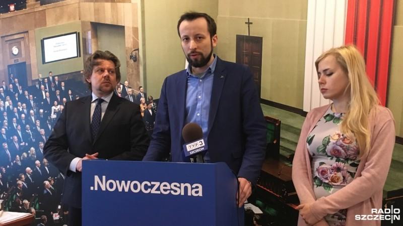 Nowoczesna wesprze projekt PO w sprawie szczecińskiej metropolii