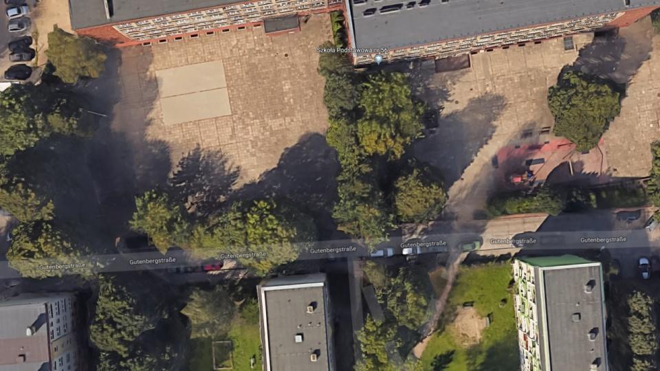 Wedlug Map Google W Szczecinie Mamy Ulice Gutenbergstrasse Radio