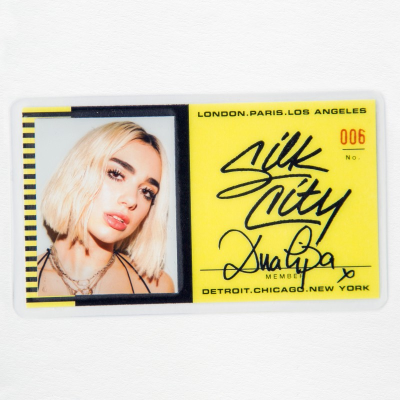 Silk City, Dua Lipa Electricity single cover