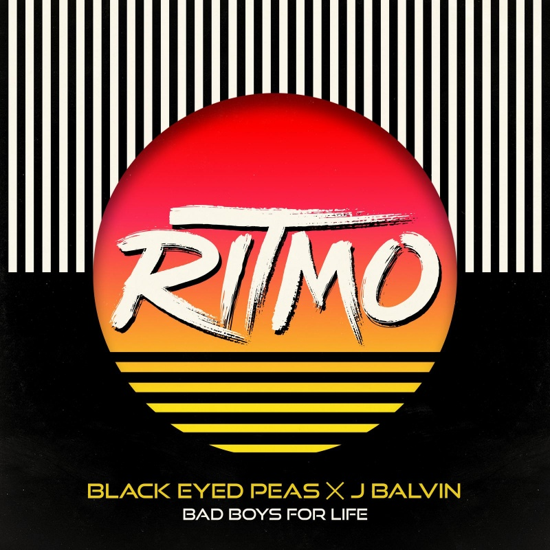 The Black Eyed Peas x J Balvin Ritmo single cover