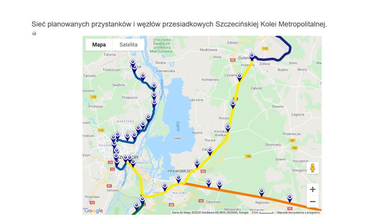 Prace Przy Szczecinskiej Kolei Metropolitalnej Radio Szczecin Na