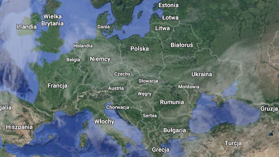 Mapa Polski O 10 Miast Wiecej I O Jedna Gmine Mniej Radio Szczecin