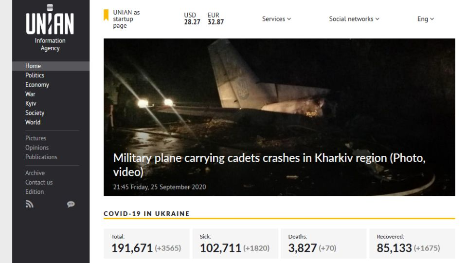 źródło: https://www.unian.info/society/an-26-crash-accident-reported-with-plane-carrying-cadets-11160527.html